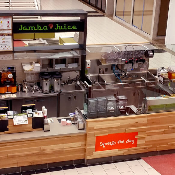 jamba juice case Jamba juice is a chain of smoothie restaurants headquartered in emeryville, california with over 700 locations operating in 30 states, the district of columbia and the bahamas over 500 locations are company-owned, with the remainder being franchised[1.